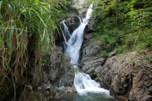 Cascada pe valea Marii