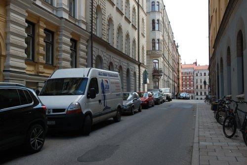 Strada din cartierul Norrmalm